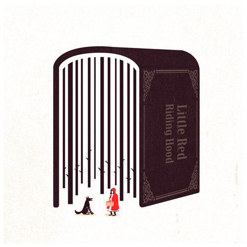 Little Red Riding Hood | Flickr Photo Sharing! #illustration