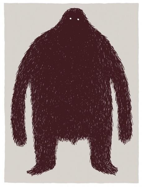The hairy monster - Tom Gauld #monster #tom #gauld