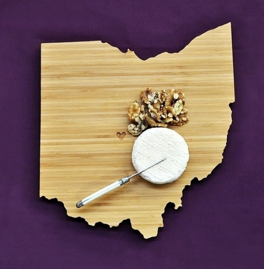 Ohio Plyboo Cutting Board by AHeirloom on Etsy #gift