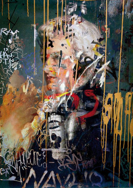 Günter Konrad   PICDIT #mixed #media #collage #art