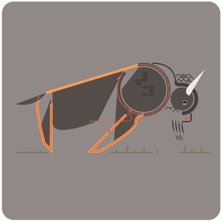 Leandro Castelao #illustration #vector #animal #castelao