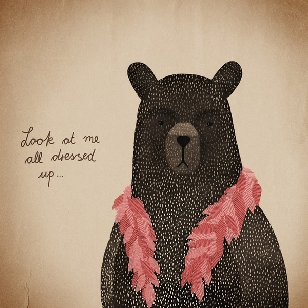 Pinterest #bear #illustration #teddy