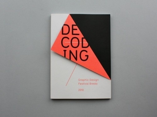 Graphic design / Design for GDFB Catalogue 2010 by Rob van Hoesel