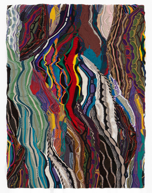 """Cotton """"paintings"""" by Jayson Musson - but does it float #cotton #flow #pattern #paintings"""