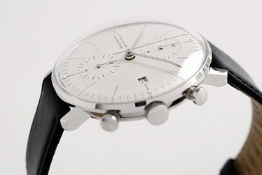 convoy #chrono #design #leather #time #watch #fashion #junghans