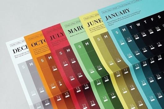 0 Por Ciento >> Espacio web especializado en grafismo #calendar #graphic