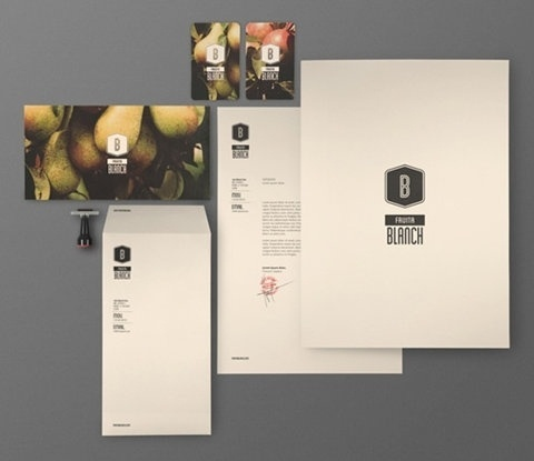 FFFFOUND! | Fruita Blanch : Lovely Stationery . Curating the very best of stationery design #identity
