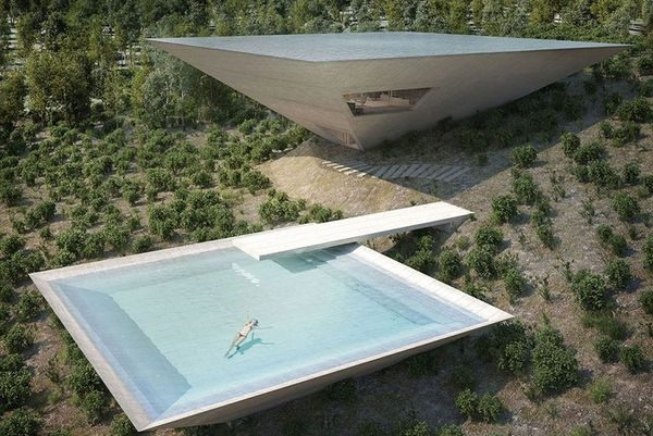 Inverted Pyramid House By TNA Architects (1)