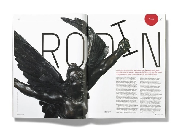 RA #layout #design #magazine #typography