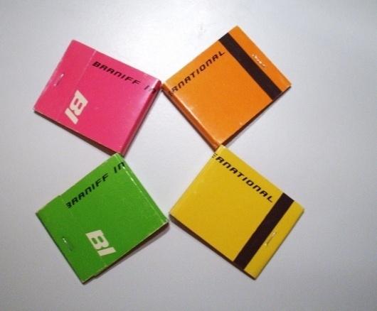 All sizes   Braniff Matchbooks   Flickr - Photo Sharing! #international #braniff #alexander #matchbook #girard