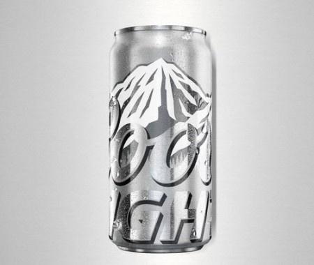 Oh Beautiful Beer #packaging #beer #can