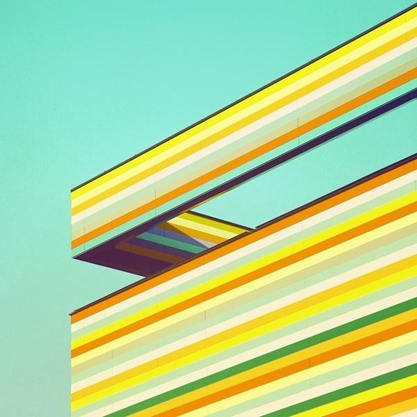Paisajes Urbanos de Matthias Heiderich | Camionetica.com | Cultura Visual y Proyectos Creativos #color #germany #minimalism #photography #architecture