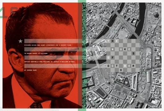 Carl DeTorres Graphic Design #red #design #direction #nixon #art #editorial
