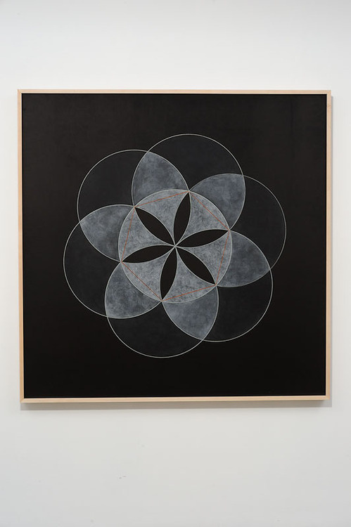 wowgreat:Christopher Badger (via Silverman Gallery Artists Christopher Badger Geometric Constructions of Antiquity, 6) #chalk