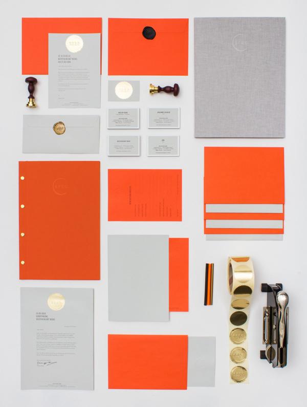 RESTAURANT BERG by LSDK #stationary #logo #print #branding