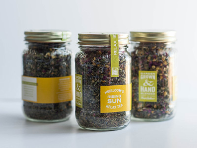 Tea Label   Kroneberger Design Co.