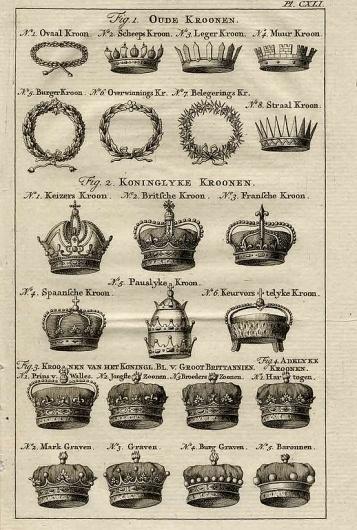 TIARA / vintage crowns #design #graphic #illustration #vintage #poster