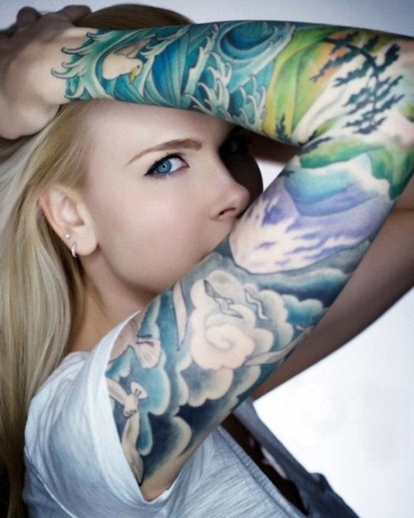 40 Awesome Cloud Tattoo Designs #tattoo #designs #cloud