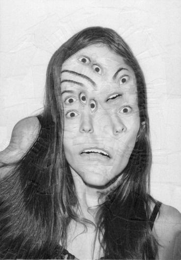 Lola Dupre « PICDIT #black #whitw #portrait #art #collage