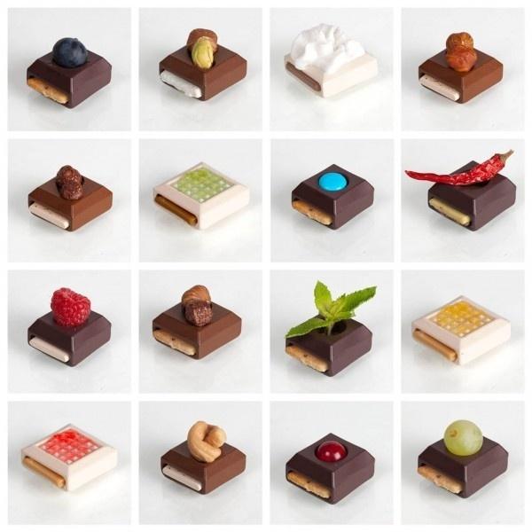 DIY Modular Gourmet Chocolates #chocolate #creation