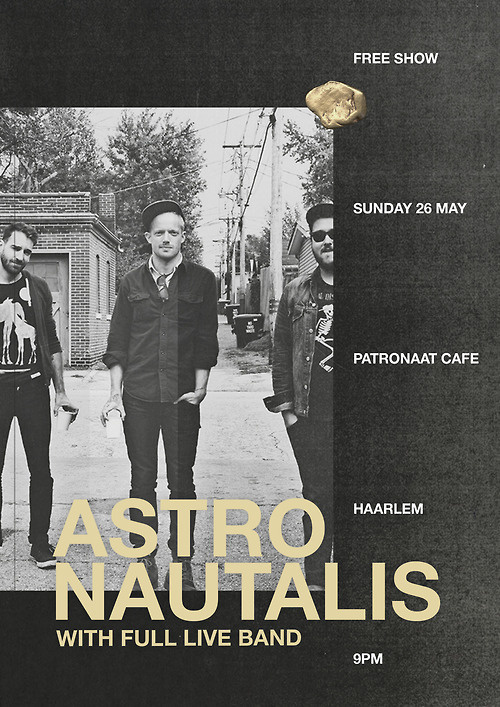 About: #gold #astronautalis #photocopy #poster