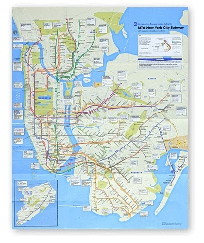 A New Subway Map for New York - Interactive Feature - NYTimes.com #nyc #map