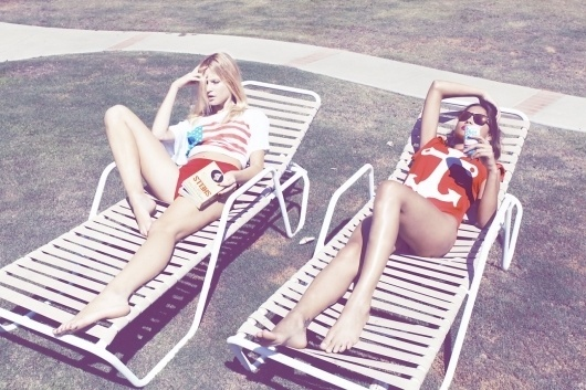 Inspiration for artists from Wildfox Couture - I LOVE WILDFOX - Sweet Valley Fox, Summer2011 #wildfox #sun #photography #girls