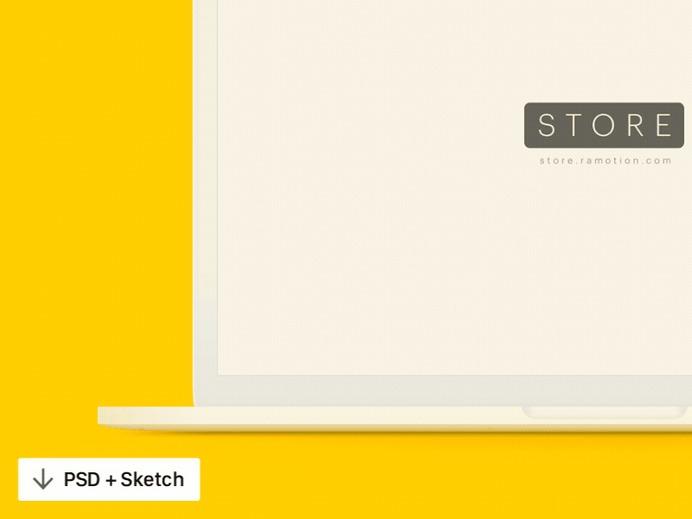 Free MacBook Mockups for 2020 [PSD, Sketch] | UX Planet