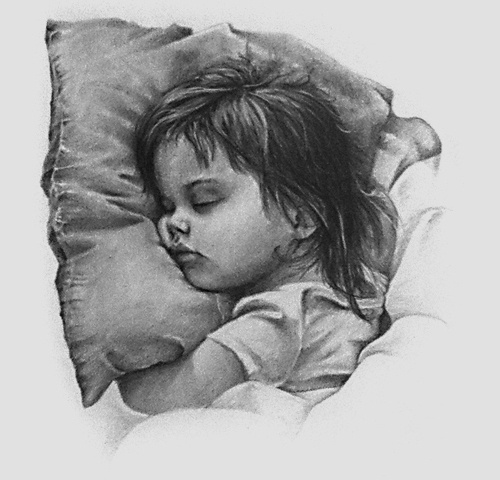 Illustration by James Mabery #mabery #child #hand #james #illustration #drawn #pencil