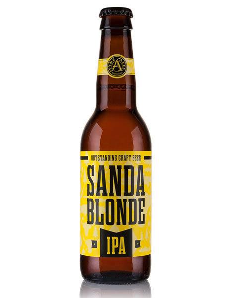Fyne Ales Sanda Blonde IPA #packaging #beer #label #bottle
