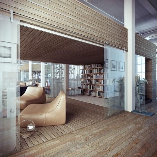 Industrial Loft #interior #loft #design #industrial