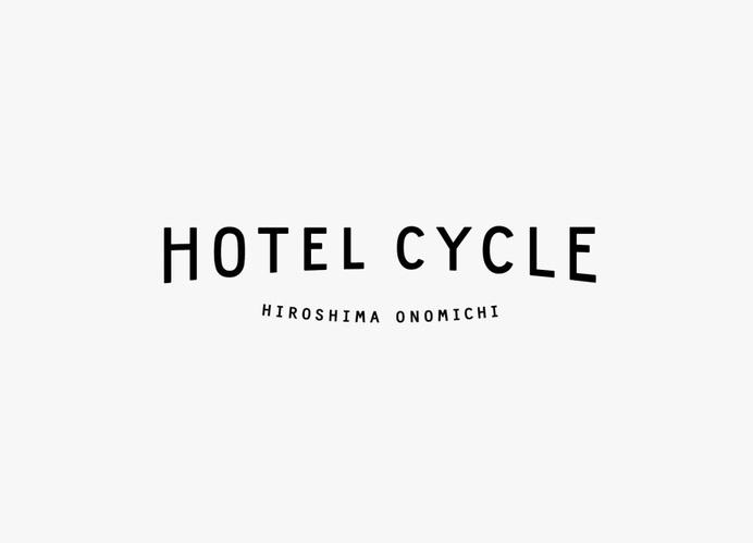 Logotype designed by UMA for U2's Onomichi based Hotel Cycle #logo #branding