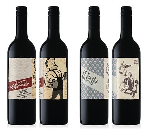 FFFFOUND! | Lovely Package® . The leading source for the very best that package design has to offer #package #print #wine