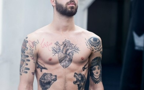 We All Love Men With Ink #tattoo