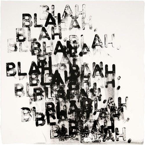 Items by designbird #type #print #blah #black
