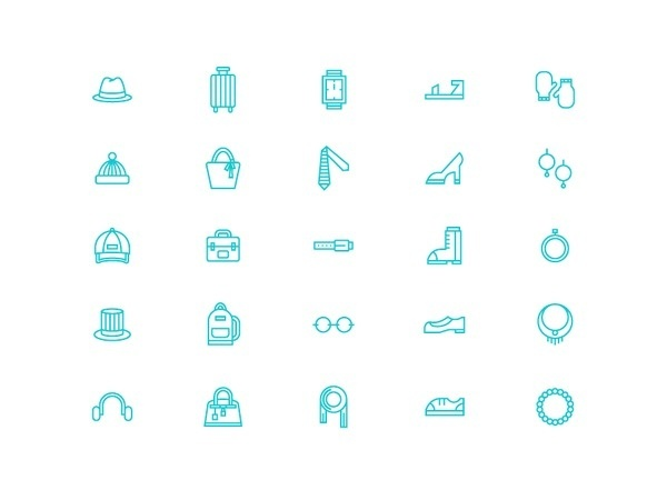 Accessory Icons #line #icon #sign #picto #symbol