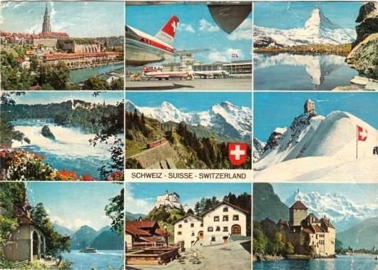 WANKEN - The Blog of Shelby White » Swiss Utopia #switzerland #swiss #postcard