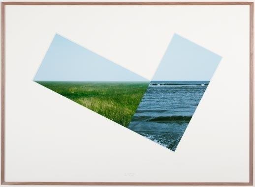 Gladstone Gallery #frame #photo #sea #nature #art #jan #dibbets