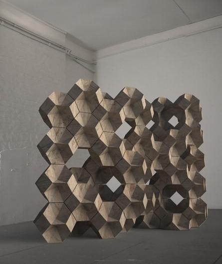 Daniel Widrig #modular #generative #widrig #wall #architecture #daniel
