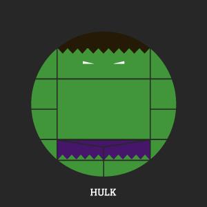 Projekt Sirkols #hulk #incredible #avenger #circles #hero #sknny