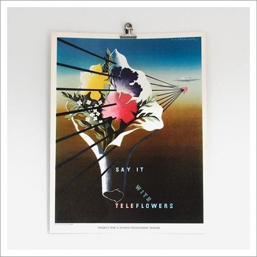 A.M. Cassandre – Advertising Posters, 1937 / Aqua-Velvet #cassandre #1937 #advertising #illustration #poster #surreal
