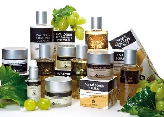 Diseño de identidad visual y packaging de productos - Skinwine Cosmetics | Estudio de Diseño Soto