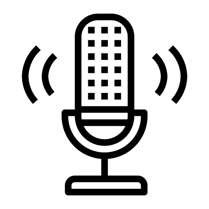 See more icon inspiration related to radio, voice recording, electronics, microphone, sound, vintage and technology on Flaticon.