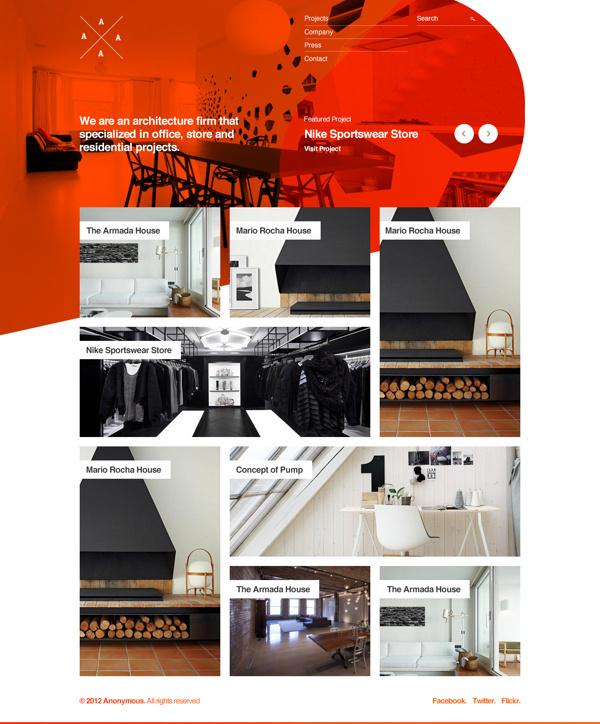 Untitled Architectural Portfolio Project on Behance #layout #portfolio #showcase #clean