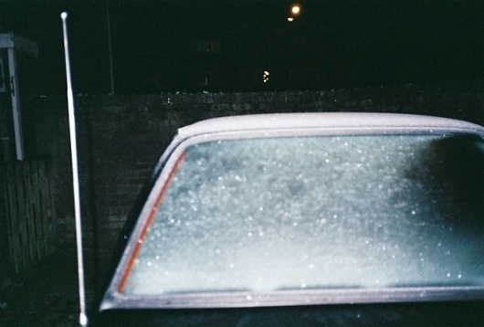 Nightleaks : Cherry Seim | Low-fidelity Emotional Photography #night #snow #car