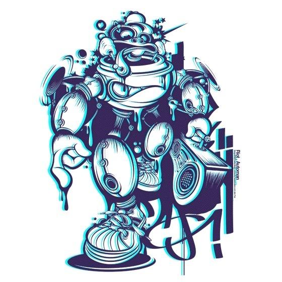 Dj.Riot's 12 #vector #design #illustration #3d #charcter