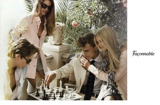 Façonnable S/S 10 (Façonnable) #fashion #advertisement #faconnable #summer