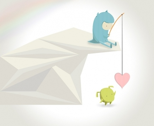jilliankristen #illustration #vector #love #fish