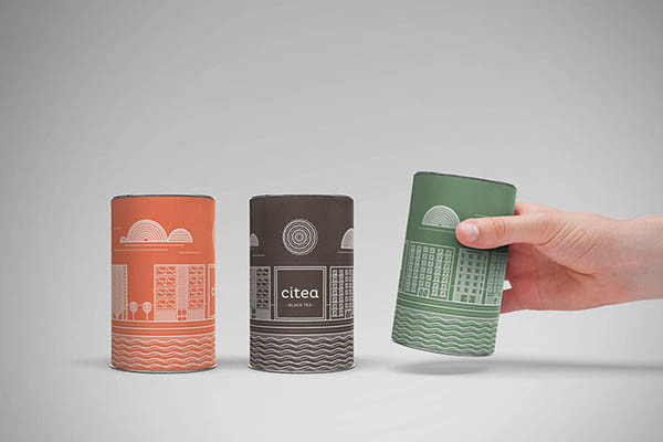 Citea – The Urban Tea Packaging