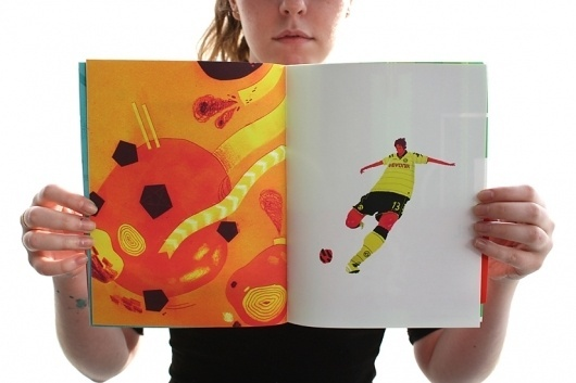 Nick Draws // The Illustration of Nick Iluzada #illustration #soccer